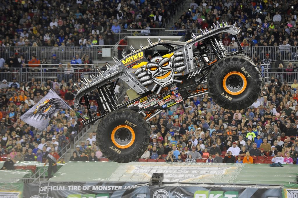 monster jam fansmax   headed   fresno service center east bay tire